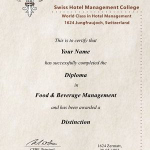 Fake Food & Beverage Archives - Diploma Outlet
