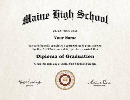 Fake High School Diplomas - Diploma Outlet