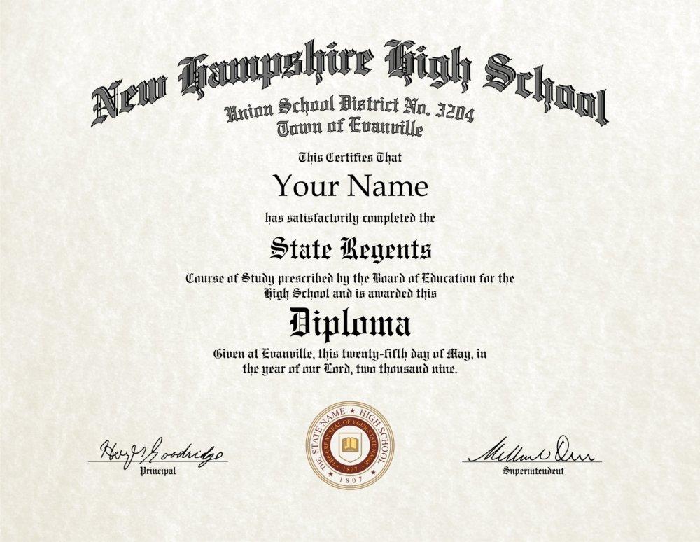Do fake high school diplomas work