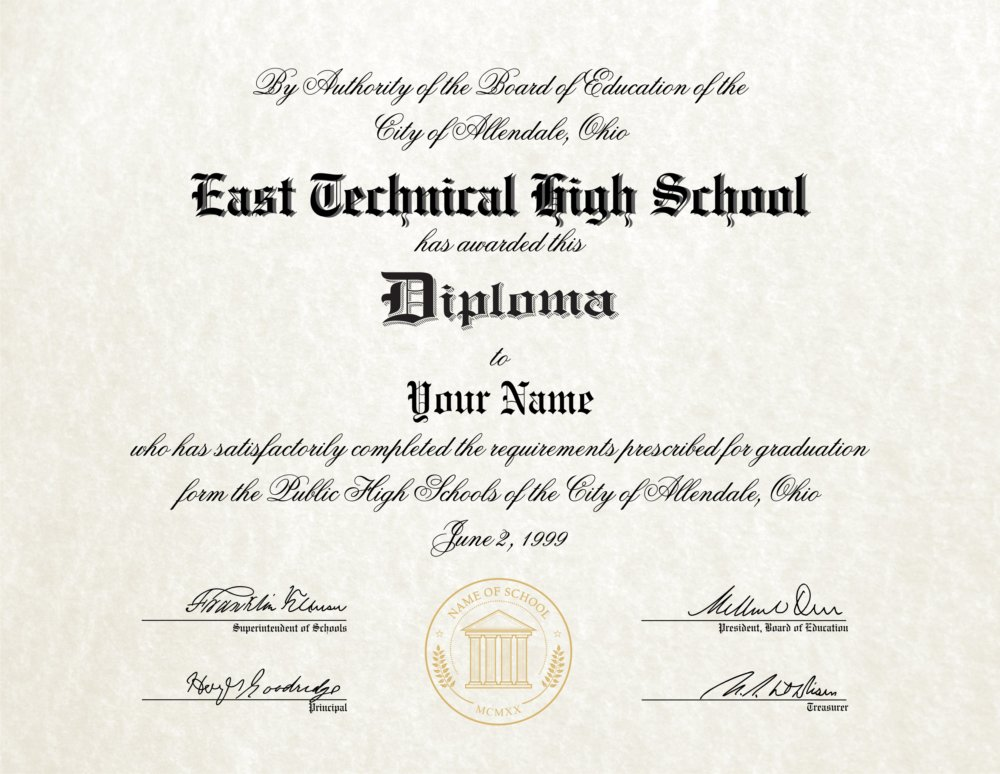 how to make a high school diploma - bananaz.tk