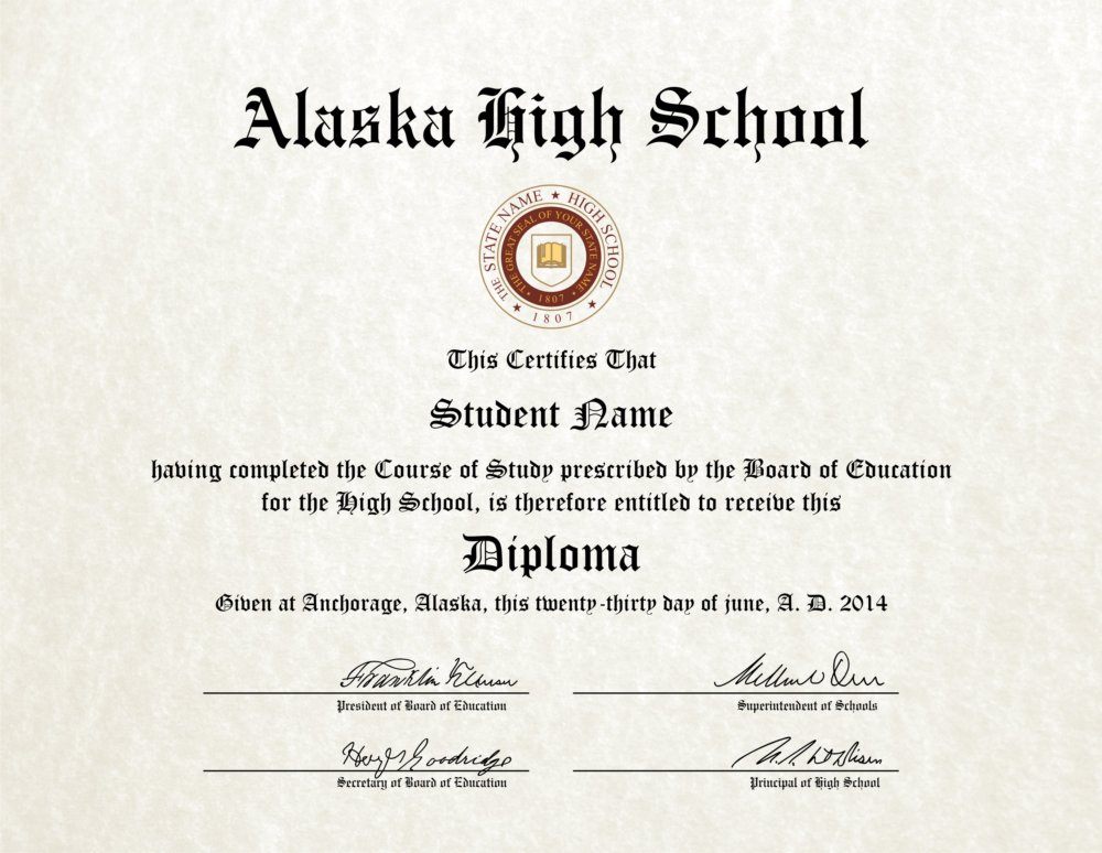 Fake High School Diploma 9 - Diploma Outlet