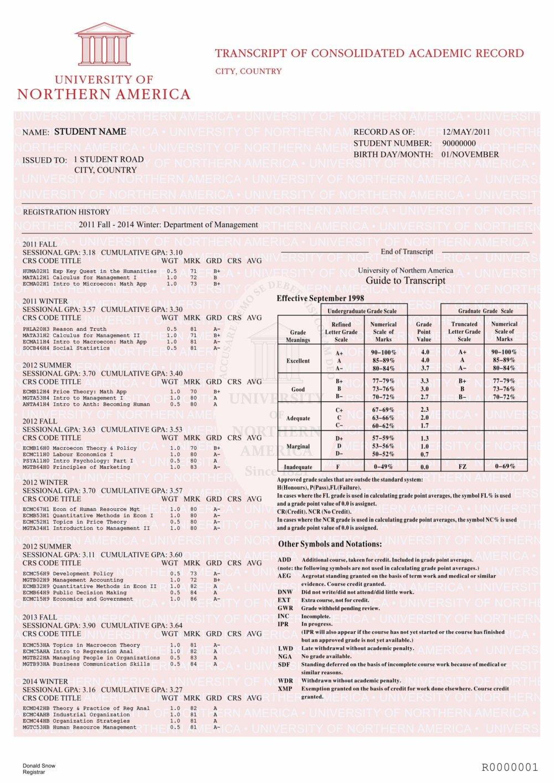 - Diploma Fake 4 Outlet University Transcript