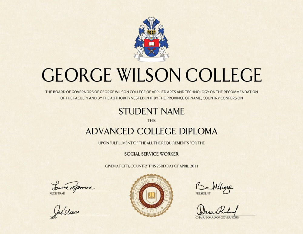 how to make a fake college diploma