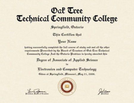 fake college diploma 5