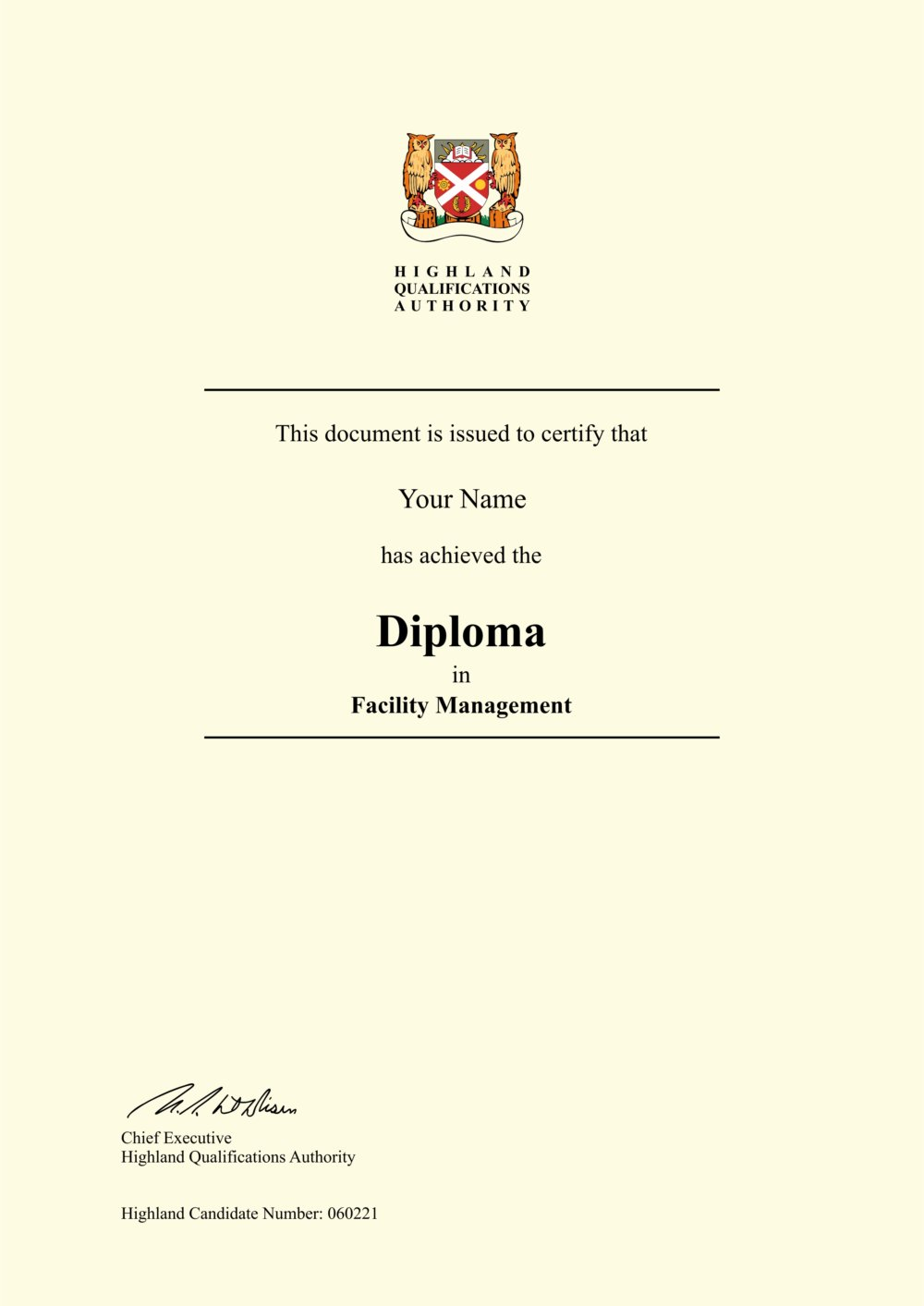 Fake Facility Management Diploma Outlet
